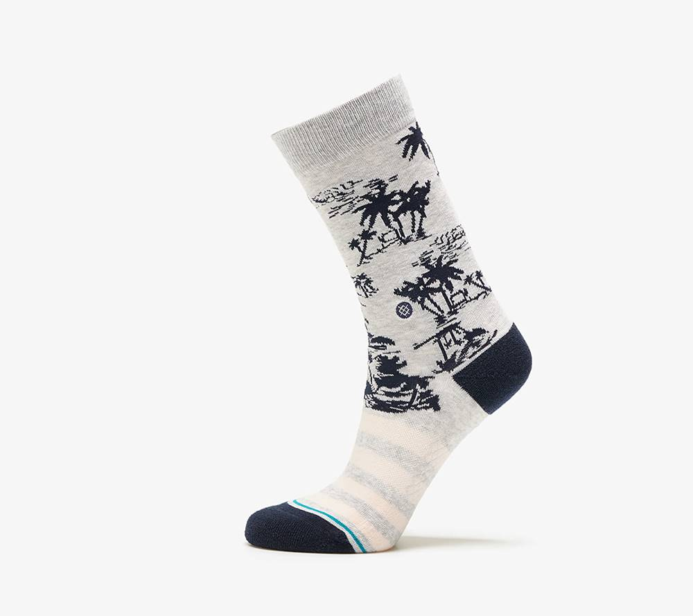 Stance Stance Harbor Crew Socks Grey