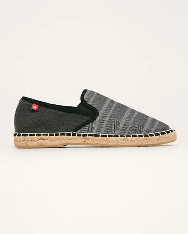 Sivé espadrilky Big Star