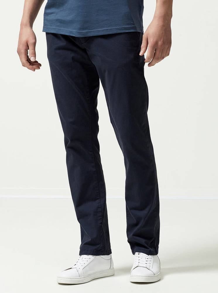 Selected Homme Tmavomodré chino nohavice Selected Homme Three Paris
